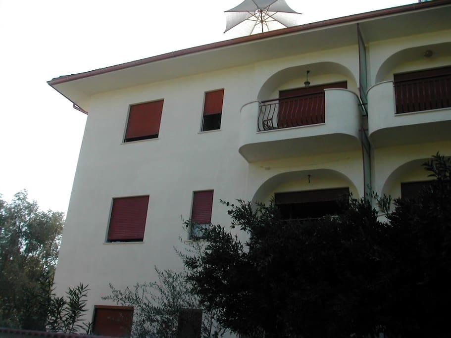 L'appartamento è al secondo piano