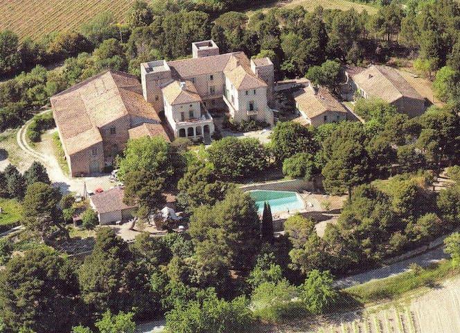 demi château, près de Carcassonne - Trausse - Замок