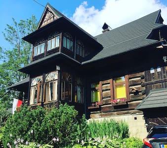 Dom w stylu Zakopianskim/huis in regionale stijl