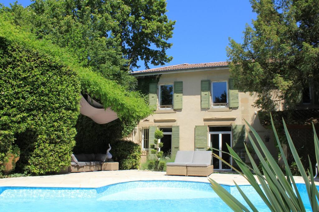 Maison d 39 h tes de charme piscine maisons louer - Chambre d hote romans sur isere ...