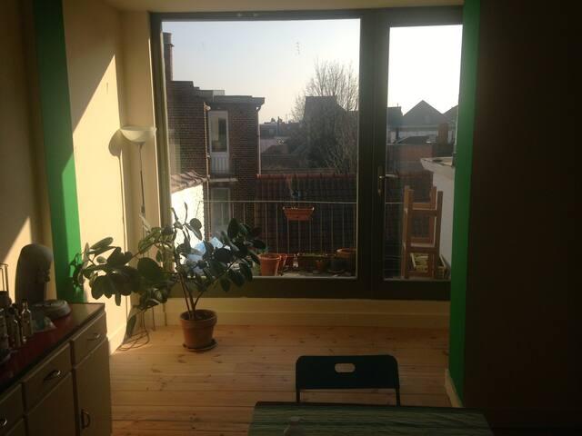 Appartement 2 pièces type loft - Ixelles - Apartment