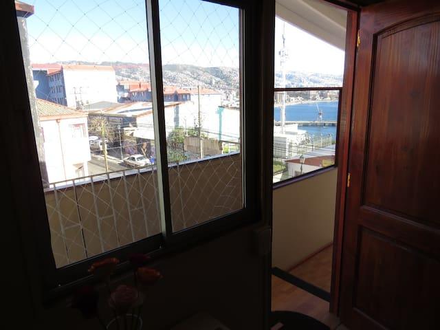 Un lugar para Descansar y Dormir en Valparaiso