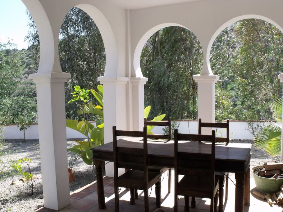 Front Terrace Dining