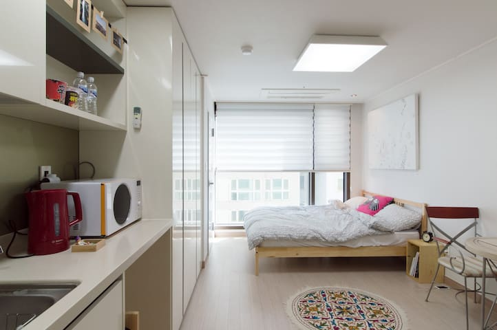 CRAN clean&cozy brand new studio - 대한민국 부산광역시 - Wohnung