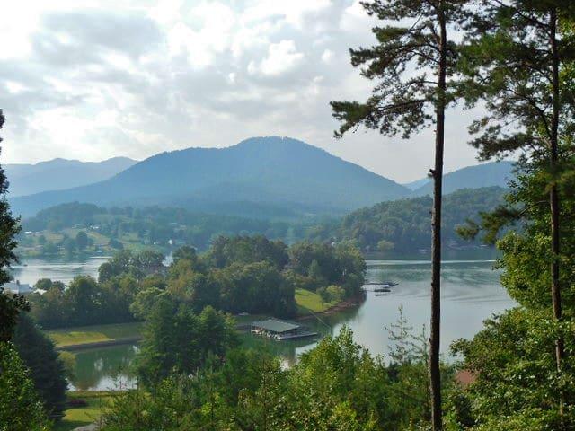 #186 NC MOUNTAIN/LAKE 2 BDRM - Hayesville - Pension