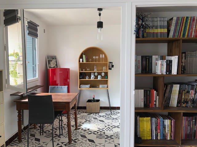 Studio cosy au pied de Part-Dieu
