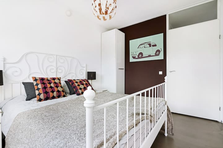 bedroom with 160x200 doublebed