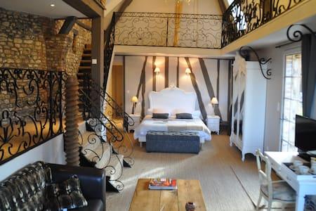 LE LOGIS DE GERBEROY / la suite 4 * - Gerberoy - Rumah