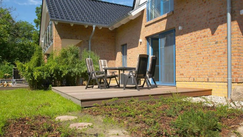Landhaus am Rebstock Wohnung Anker - Lancken-Granitz - Apartamento