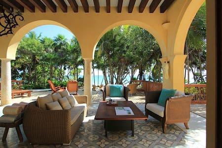 Hacienda Chekul Beach Villa (up to 4 guests) - Tulum - Willa