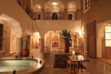 Riad Dar ten Marrakech, BB, jacuzzi - Marrakesh - Penzion (B&B)