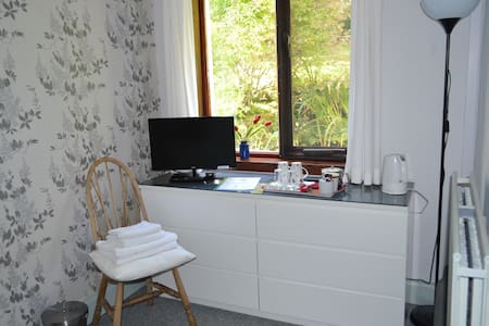 Downstairs double en-suite room - Onich