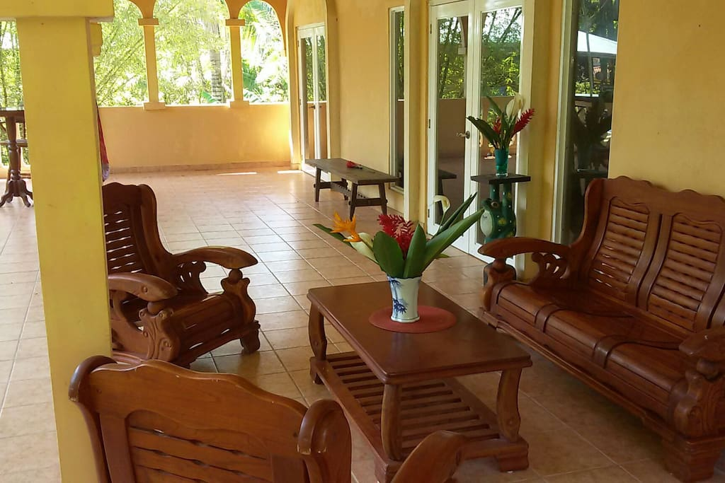 Sit in style on due East facing giant balcony for sunrise breakfast. This Villa is common place for Yoga and Surf Trips for it's spacious rooms and terraces.
