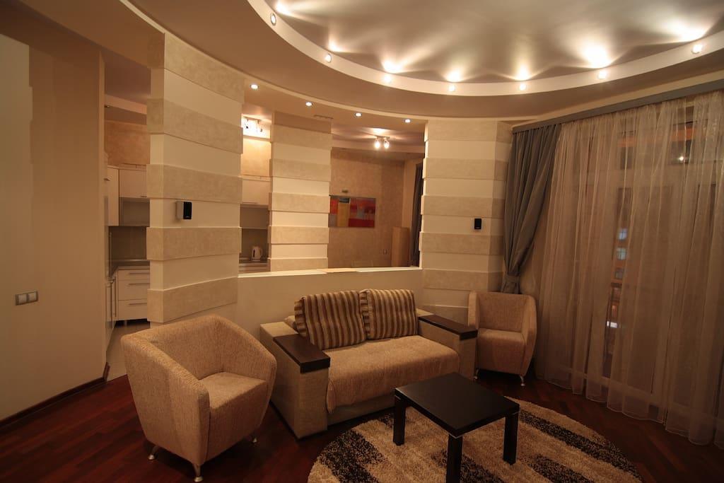 Apartment 52 / Living room