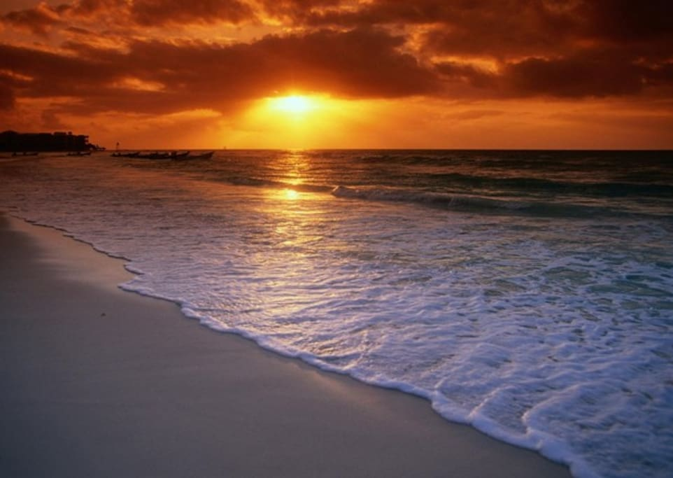amazing and romantic sunsets