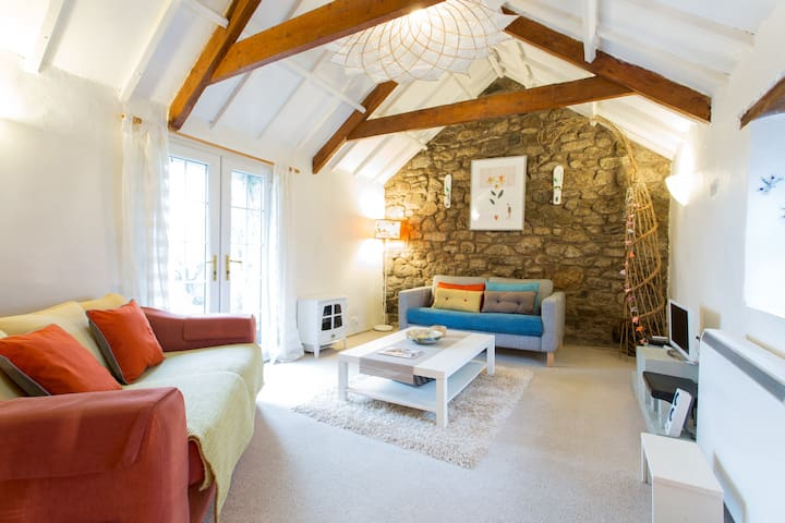 Cornish barn 4mile Porthleven Beach - Helston - Rumah