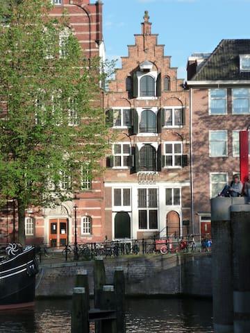 Stunning Canal view studio- 1620's - 阿姆斯特丹 - 公寓