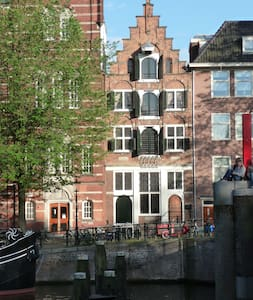 Stunning Canal view studio- 1620's - Amsterdam - Daire