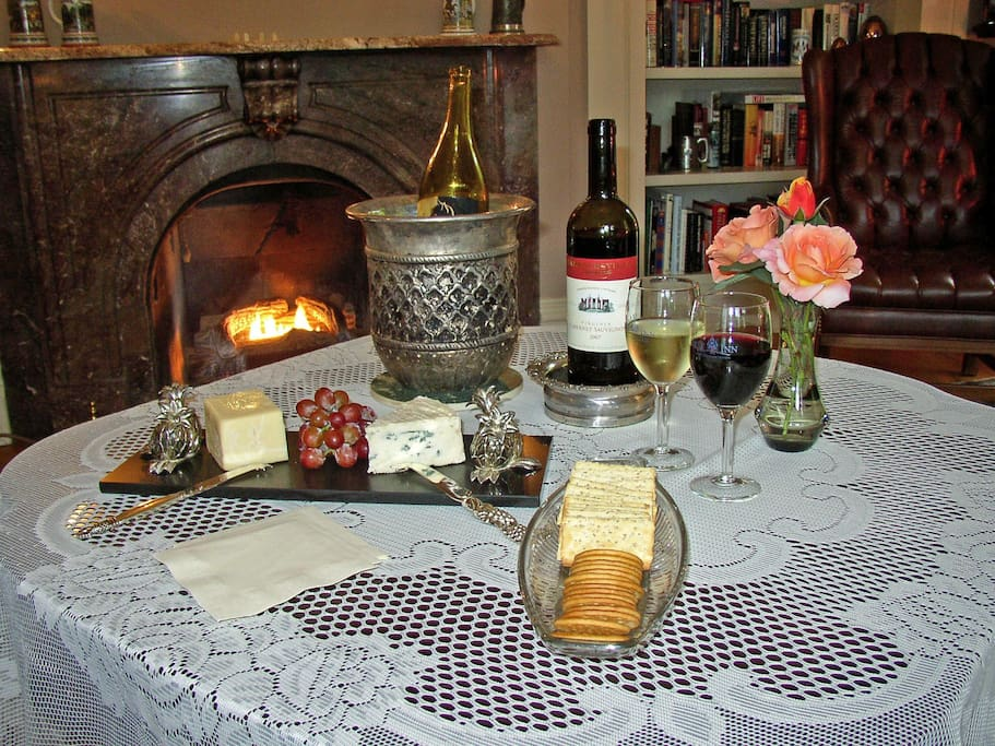 Evening Wine and Cheese Socials