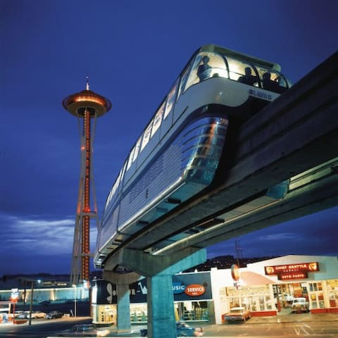 8, Sparkling Seattle Center  - Seattle - Huoneisto