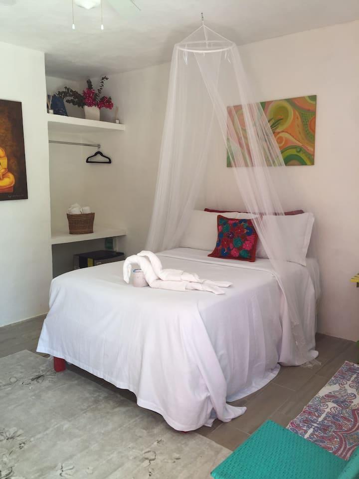 La cabaña de Tania  habitación colibrí