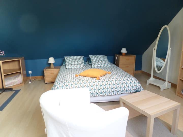 Chambres spacieuses et lumineuses chez l'habitant