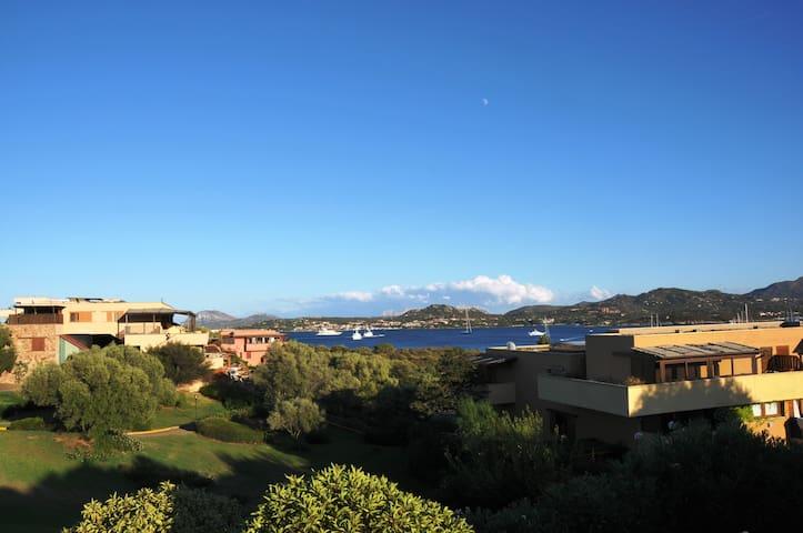 Magnifica vista su Porto Rotondo - Olbia - Apartamento
