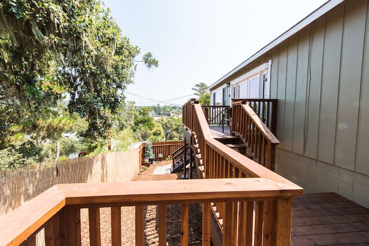 Ample outdoor space allows you to make the most of your trip.