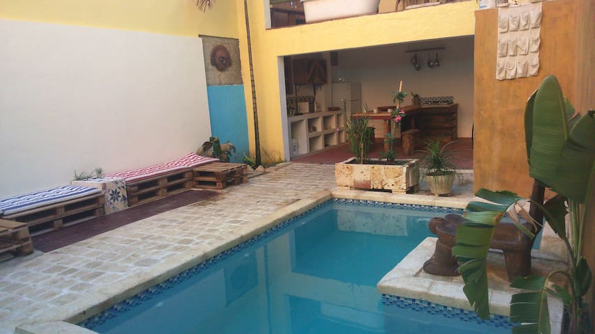 Zona Colonial*Piscina*Wi-fi(altos)