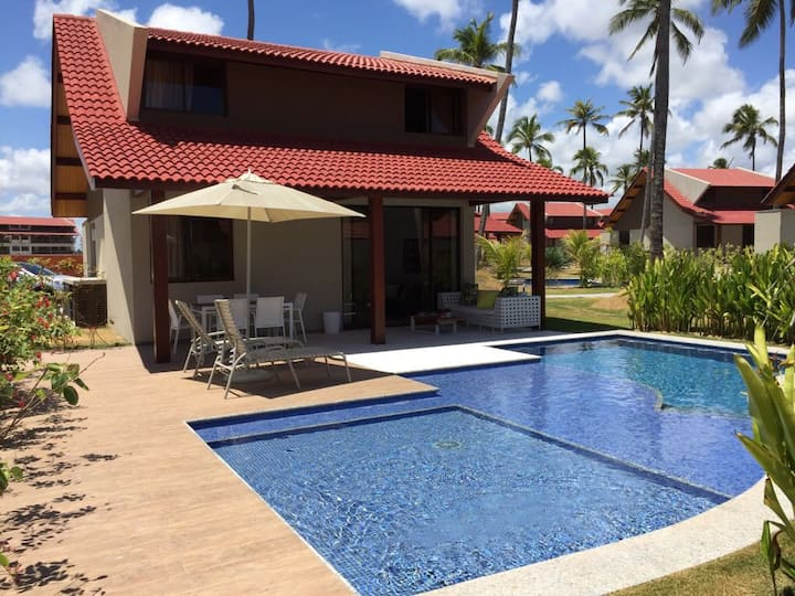 Bangalô Oka Beach Residence - Condomínio Beira Mar