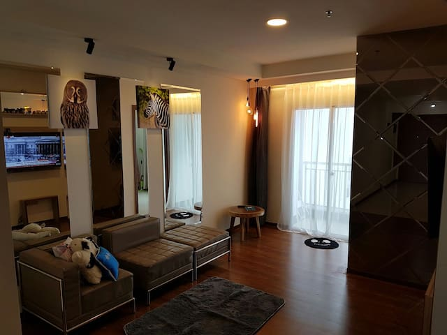 2 Bed Room Amazing Sea View Condominium 80sqm - Jakarta Utara - Byt