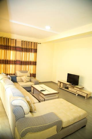 Another view of the comfy and spacious living room