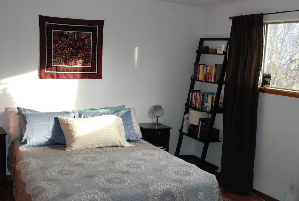 Room 1. Master bedroom, new extremely comfortable queen size bed.