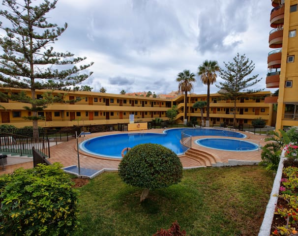 the apartment is on the 1st line of - Los Cristianos
