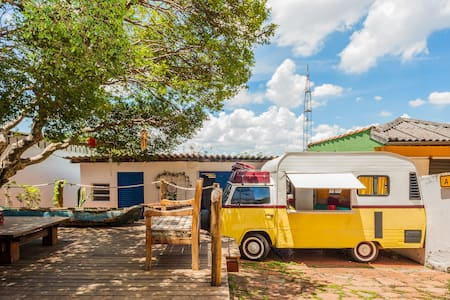 Urban Safari @ VW Vintage Campervan - São Paulo