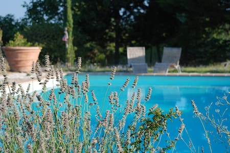 Agriturismo Umbria pool & tennis - Губбио - Квартира