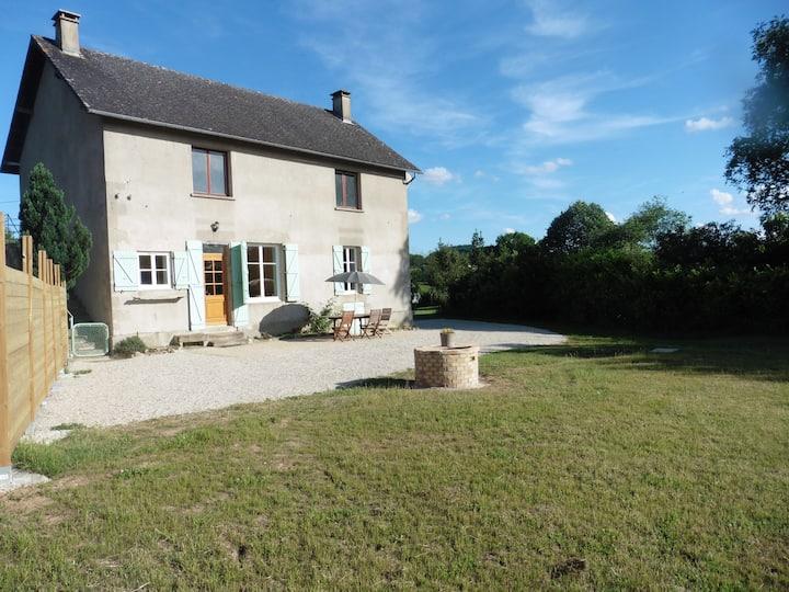 Gîte à Brion près de Autun en Bourgogne