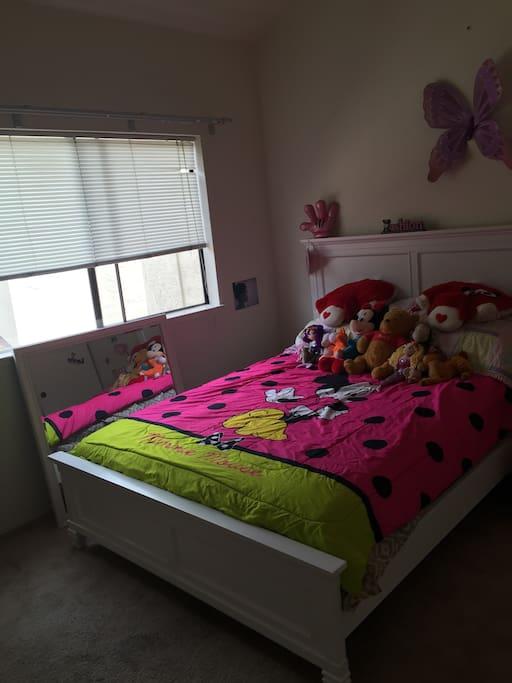 Queen size Bed Room.