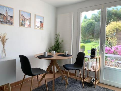 Bel appartement de 30 m2 avec terrasse
