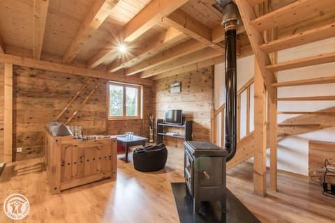 appartement au calme dans corps de ferme savoyarde
