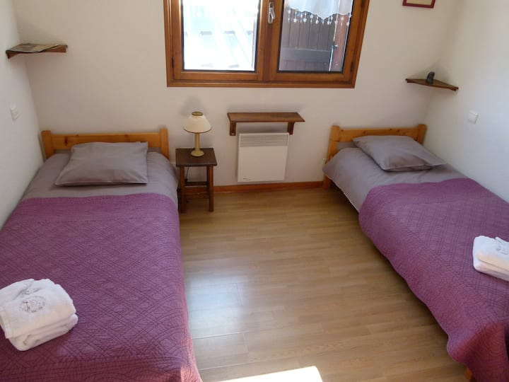 Twin room-Standard-Private Bathroom-Mountain View
