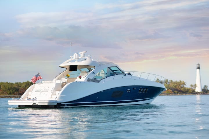 Private Yacht 4/6/8hr Daytrips- 60ft SeaRay