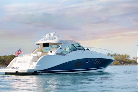 Charter 60ft Sea Ray Private Yacht - Miami