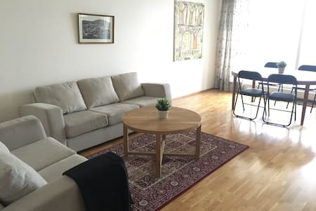 Bright and spacious 3-bedroom appartment - Reykjavík
