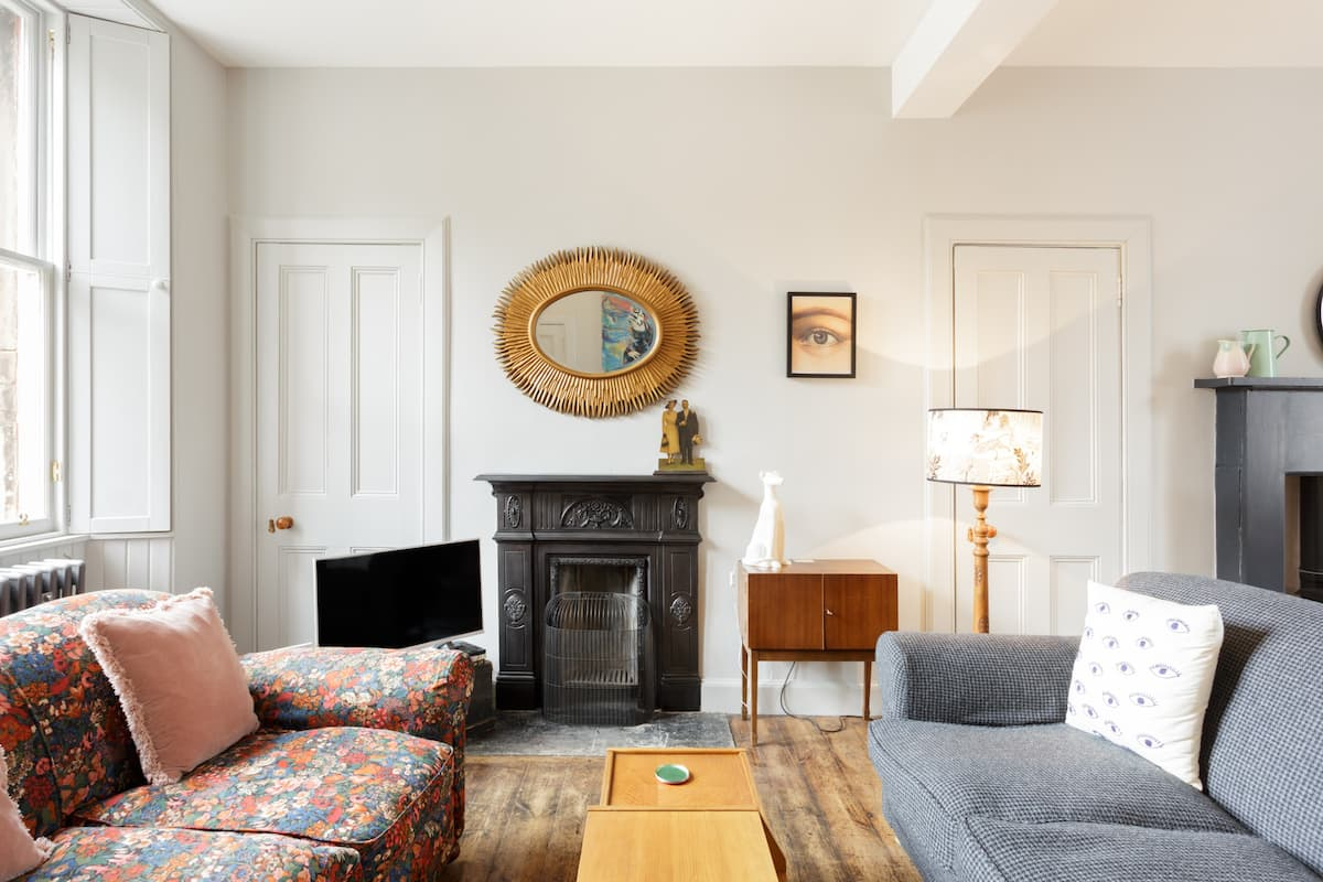 Curl Up in an Armchair at an Original Victorian Mews House