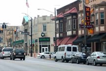 Located half a block from the middle of downtown Lakewood and all of the food and entertainment this great city has to offer!
