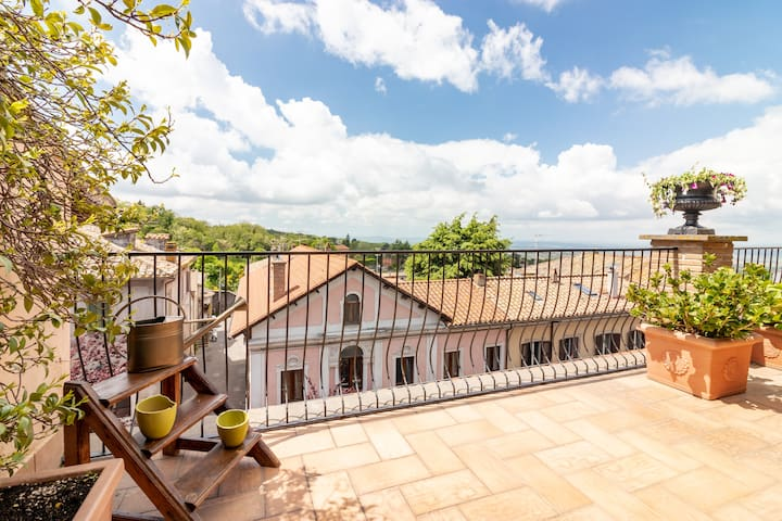 Casa Olmino – Classico moderno, splendida terrazza