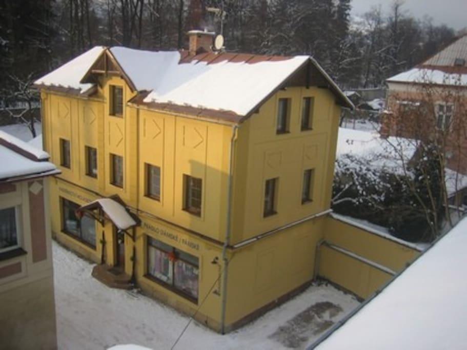 Dům - Apartmány Krkonošská 1429, Vrchlabí