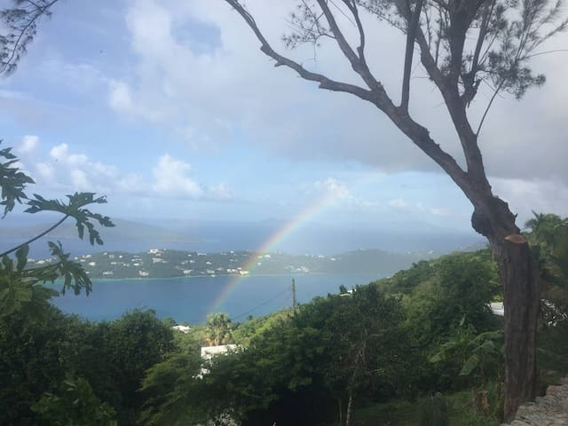 Paradise Found - private room in guest cottage - Charlotte Amalie