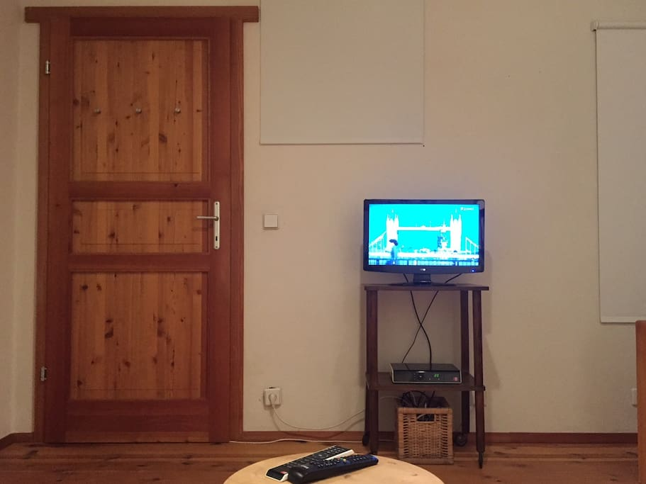 Bedroom 1 with TV